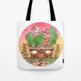 In The Garden: November Tote Bag