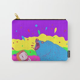 Flippin the bear Carry-All Pouch