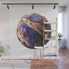 Abstract Planet v8 Wall Mural