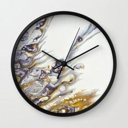 Liquid Crown Wall Clock
