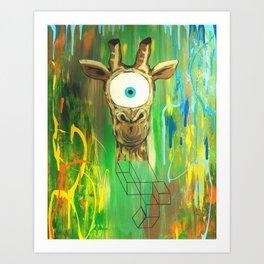 Spirit Animal Sight: Giraffe Art Print