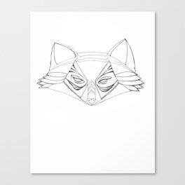 Plain Spirit Fox Canvas Print
