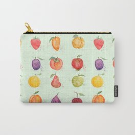 fruit collection watercolor Carry-All Pouch
