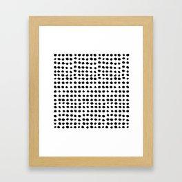 Puntillos Framed Art Print