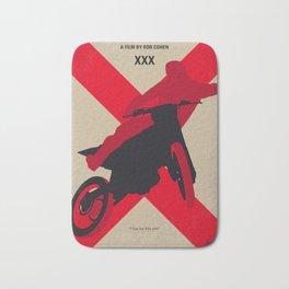 No728 My xXx minimal movie poster Bath Mat