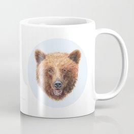 Brown Bear portrait Coffee Mug