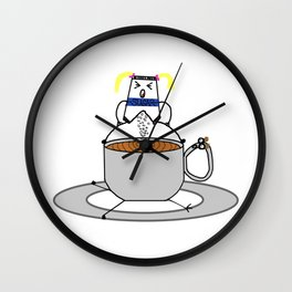 The Cleveland Coffee Wall Clock