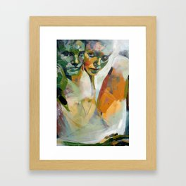 Out of Body Framed Art Print