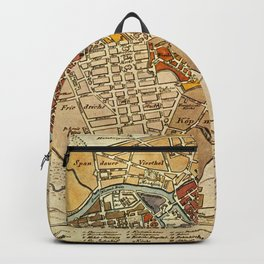 Vintage Map of Berlin Germany (1789) Backpack