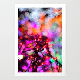 Magic Tree 3 Art Print