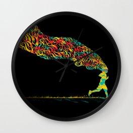 Pursuit Wall Clock