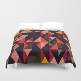 Vintage vibes_in warm hues Duvet Cover