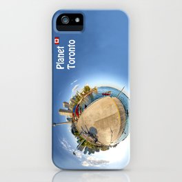 Planet Toronto Wall Paper iPhone Case