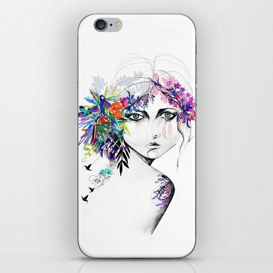 Exotic Girl iPhone & iPod Skin