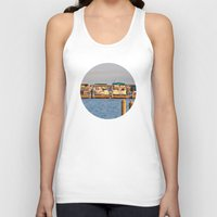 boats Tank Tops featuring Docked Boats  by Chris Klemens
