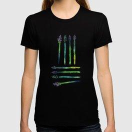 Asparagus Bunch Watercolor T-shirt