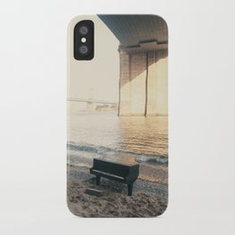 east river piano iPhone Case