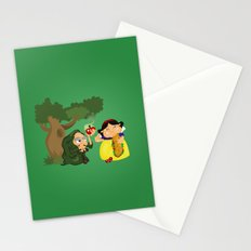 Snow White (witch) Stationery Cards