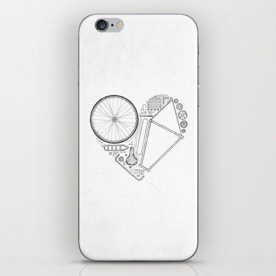 Love Bike (Grey) iPhone & iPod Skin