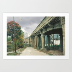 Boonville Bridge I Art Print