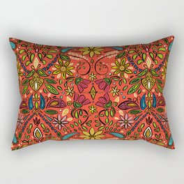 aziza fire Rectangular Pillow