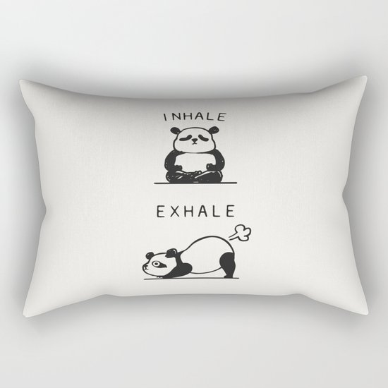 Inhale Exhale Panda by huebucket