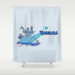 Havana - Twilight Shower Curtain