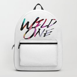 Wild One (words only) Backpack