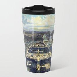 Vue générale de Paris Travel Mug