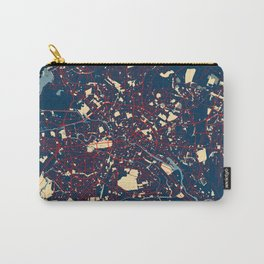 Berlin City Map of Germany - Hope Carry-All Pouch