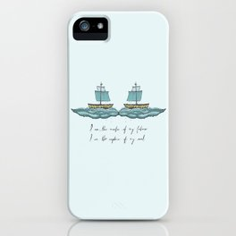 Captain of My Soul iPhone Case