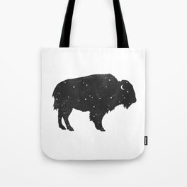 Mystic Buffalo Tote Bag