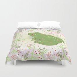 Little Frog Duvet Cover