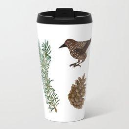 spotted nutcracker Travel Mug