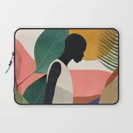 Tropical Girl Laptop Sleeve