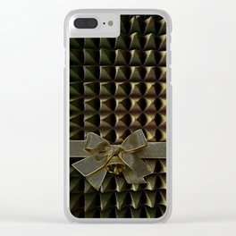 Painfully wrapped up Clear iPhone Case