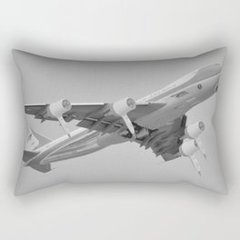 Hairforce One Trumps Presidential Plane Airforce One Rectangular Pillow