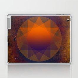 Merkaba, Abstract Geometric Shapes Laptop & iPad Skin