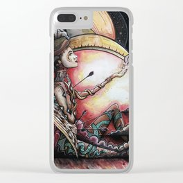 Faith Clear iPhone Case