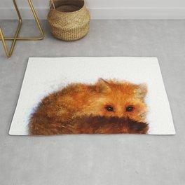 Shy Red Fox Rug