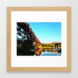 Susquehanna Reflections Framed Art Print