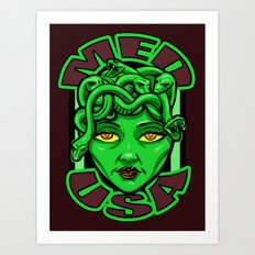 Madusa Art Print