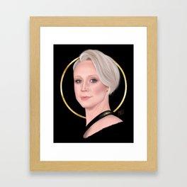 Gwendoline Framed Art Print