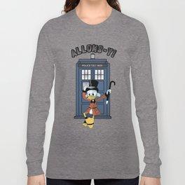 Duck Who Long Sleeve T-shirt