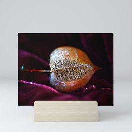Sparkling Physalis  Mini Art Print