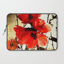 Spring Red 3, Royal Botanical Gardens - Melbourne Laptop Sleeve