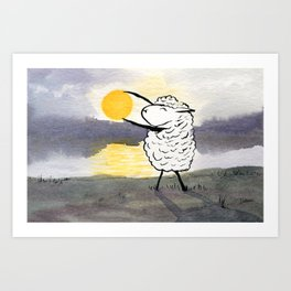 Capture the Sun Art Print