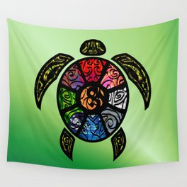 Bagua Turtle Wall Tapestry