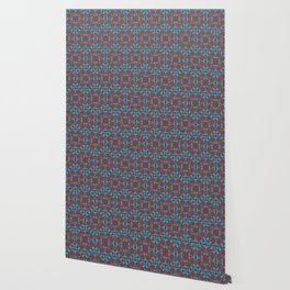 Abstract flower pattern 6b ver. 2 Wallpaper