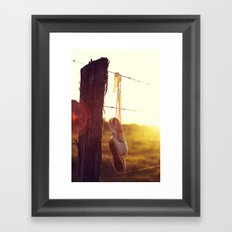 Country Ballet Framed Art Print
